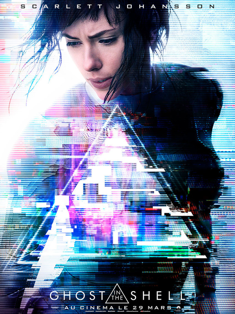 affiche ghost in the shell Scarlett Johansson
