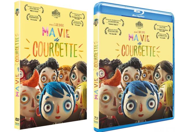 Ma vie de courgette concours dvd for Le miroir de ma vie