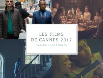 LES FILMS DE CANNES 2017