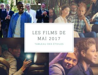 LES FILMS DE MAI 2017