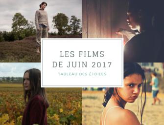 LES FILMS DE JUIN 2017