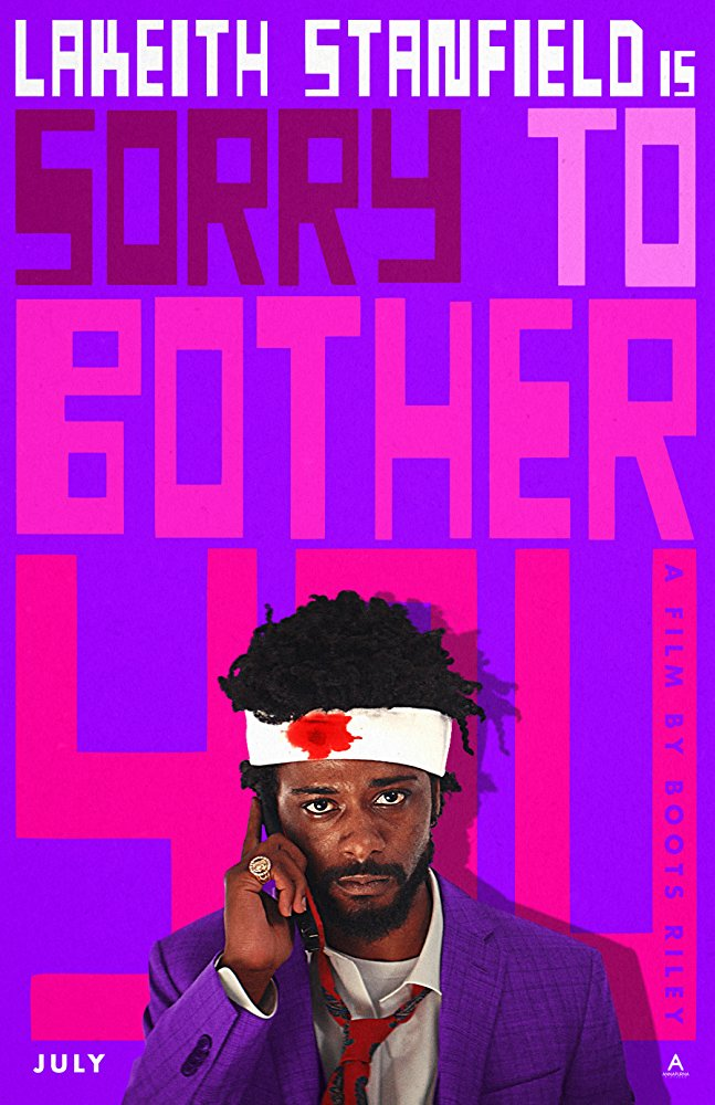 SORRY TO BOTHER YOU affiche