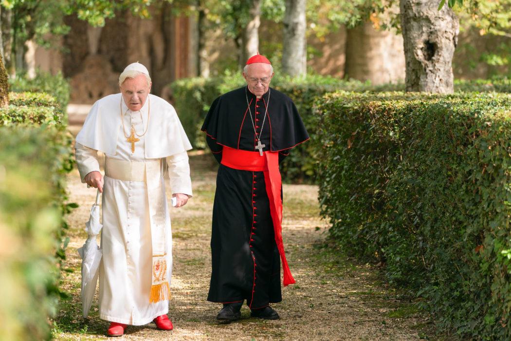 Le face-à-face inédit de deux papes